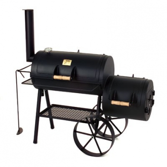 """Barbeque Smoker / Holzkohle Grill Joe´s BBQ 16"""" Tradition 70x40cm Bild 1"""