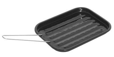 Grillpfanne / Grillschale Activa Grillküche 32,5x24,5x2,5cm emailliert Bild 1