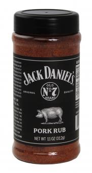 Jack Daniel´s Pork Rub / Gewürzmischung Schweinefleisch 312g Bild 1