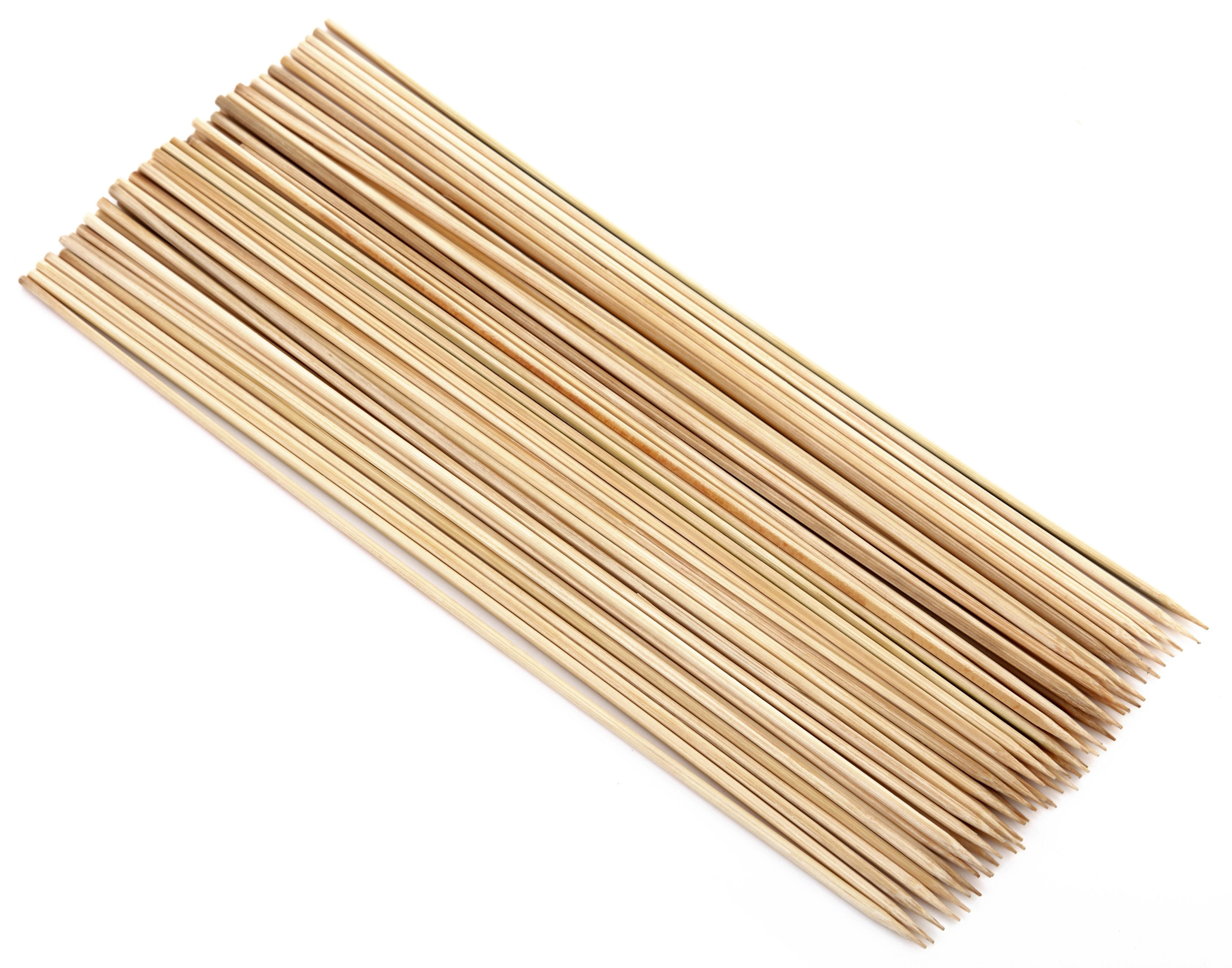 Tepro Grillspieße / Holzspieße aus Bambus 50 Stück Länge 30 cm Bild 1