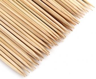 Tepro Grillspieße / Holzspieße aus Bambus 50 Stück Länge 30 cm Bild 2