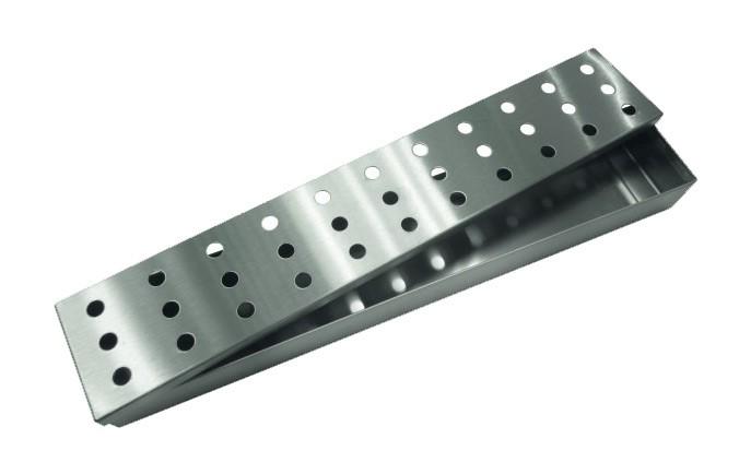 Tepro Räucherbox / Aromabox Edelstahl 33,5x6x3,5cm Bild 1