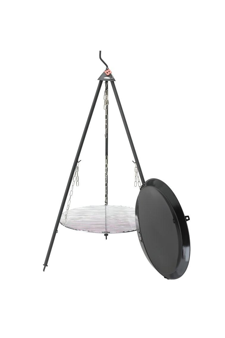 bon fire schwenkgrill dreibeingrill grillfl che 60 cm bbq pfanne bei. Black Bedroom Furniture Sets. Home Design Ideas