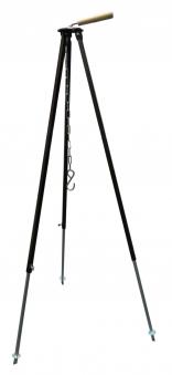 Dreibein Gestell Teleskop 80 - 150 cm goldbraun Bild 1
