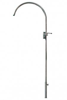 Grillgalgen Modell Rondo Höhe 190cm Edelstahl Bild 1