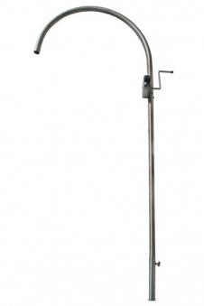 Grillgalgen Modell Rondo Höhe 230cm Edelstahl Bild 1