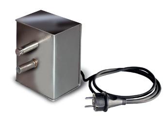 Grillmotor Edelstahl 230 Volt für Grillgut bis 10kg Schneider Bild 1