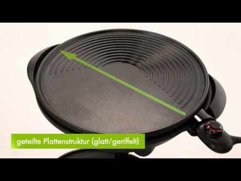 Tepro Elektrogrill / Kugelgrill Elgin Grillfläche Ø45cm Video Screenshot 992