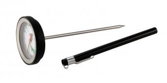 Grillthermometer / Bratenthermometer Tepro Edelstahl / schwarz Bild 2