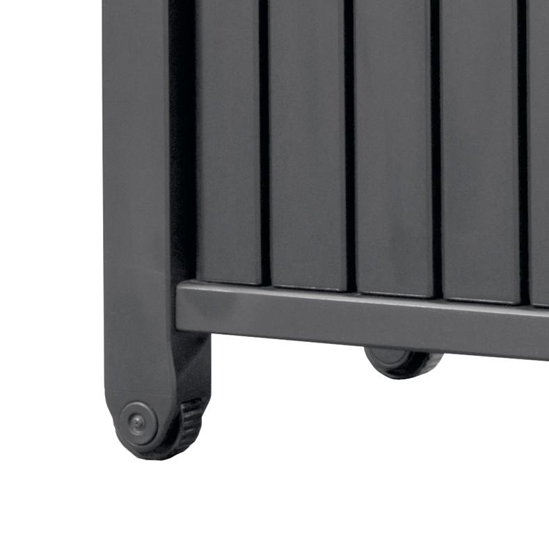 keter beistelltisch grilltisch 2 t rig graphit. Black Bedroom Furniture Sets. Home Design Ideas