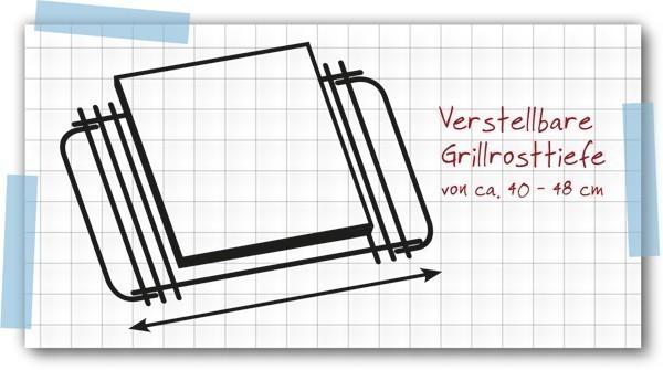 Tepro Gussrost / Gussgrillrost Einleger 28 x 23,5 cm Bild 2