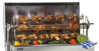 Tepro Hähnchen Grillkorb zu Spanferkelgrill 127,5cm Bild 2