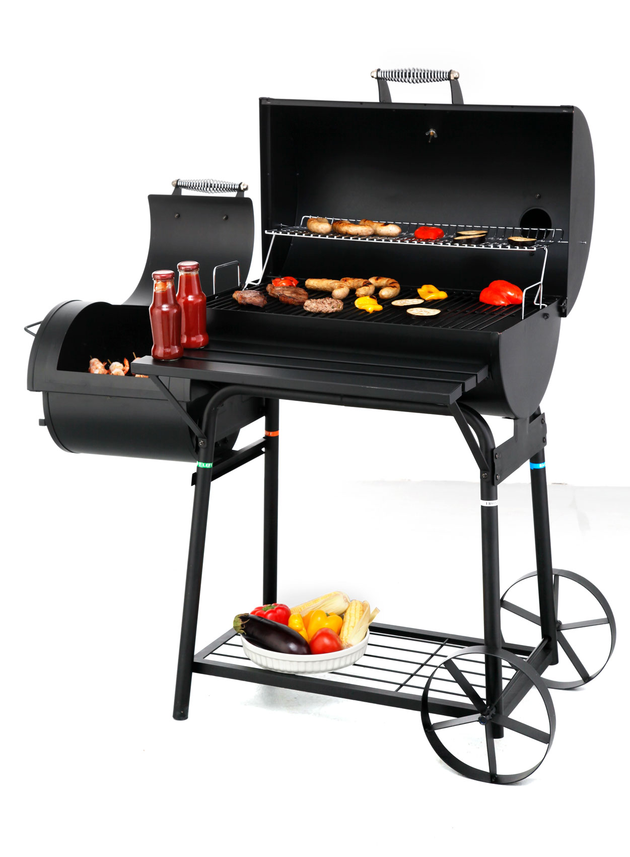 tepro barbecue smoker grill holzkohlegrill biloxi bbq bei. Black Bedroom Furniture Sets. Home Design Ideas