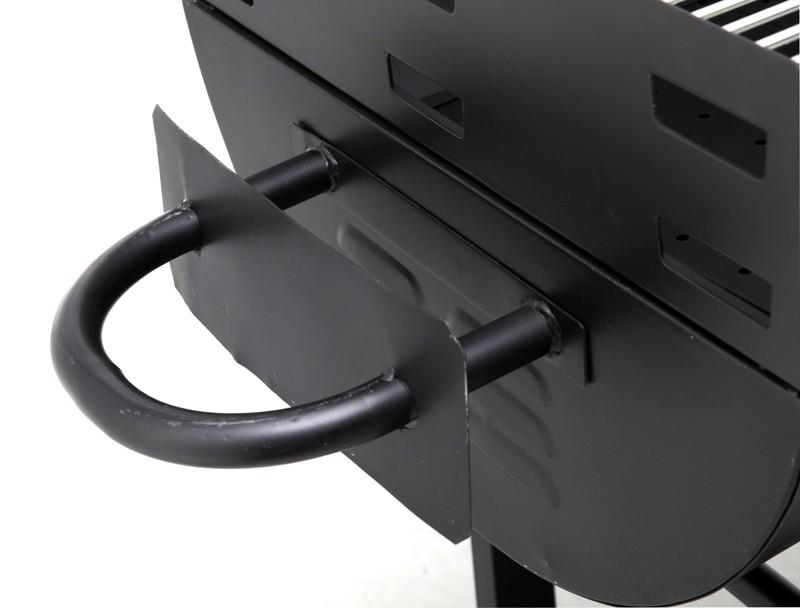 Tepro Holzkohlegrill / Grillwagen Dallas Grillfläche 2x 54x50cm Bild 3