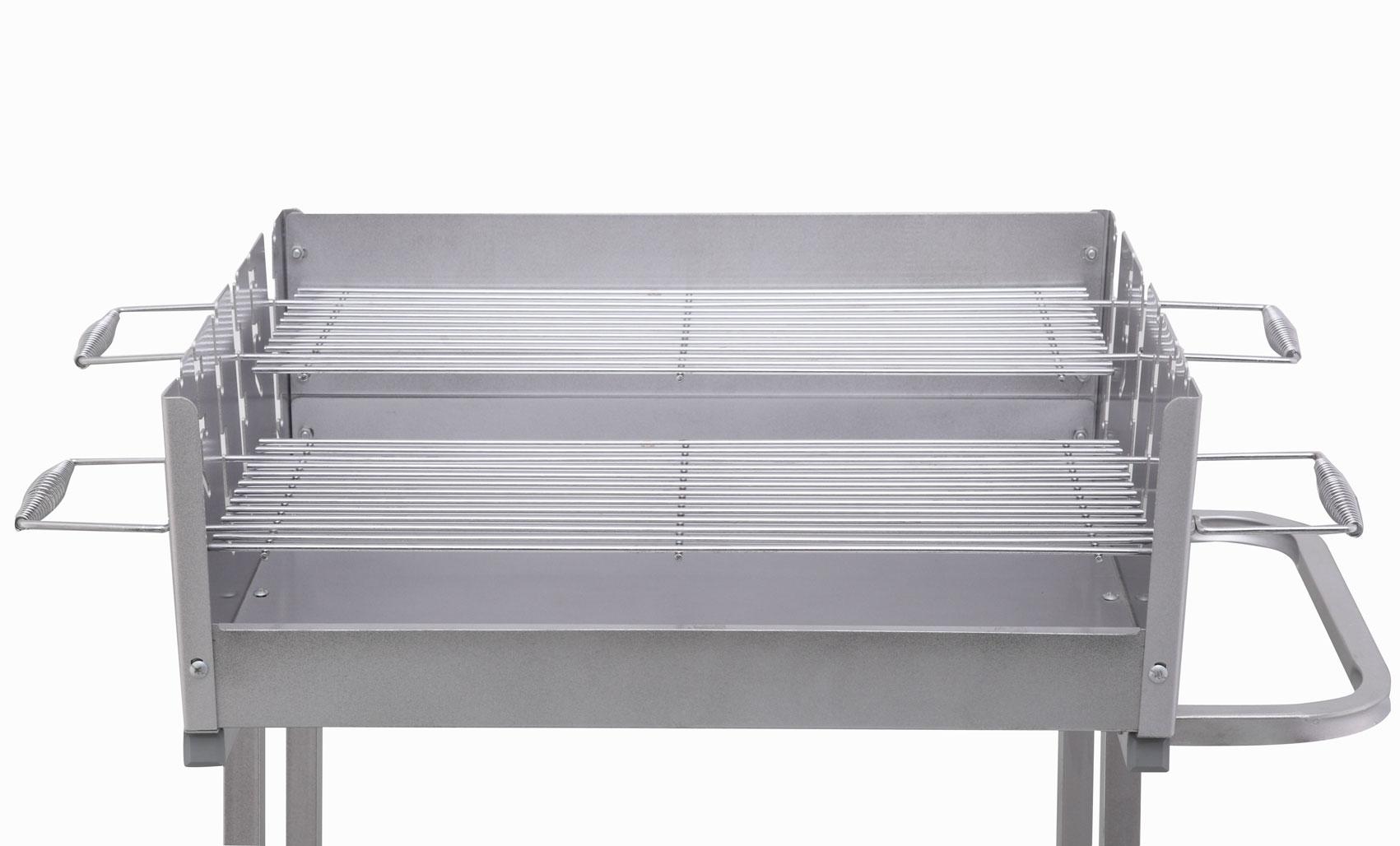holzkohlegrill grillwagen tepro pasadena grillfl che 56x36cm bei. Black Bedroom Furniture Sets. Home Design Ideas