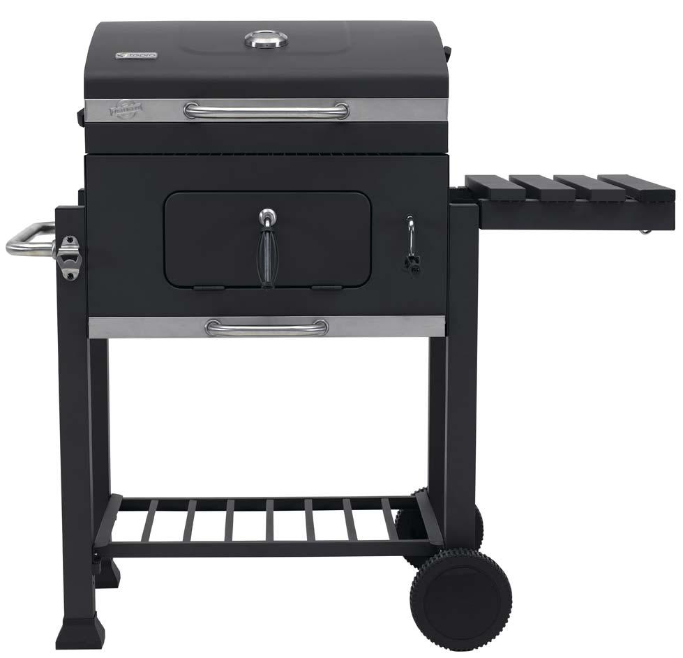 tepro holzkohlegrill grillwagen toronto click grillfl che 56x41 5cm bei. Black Bedroom Furniture Sets. Home Design Ideas