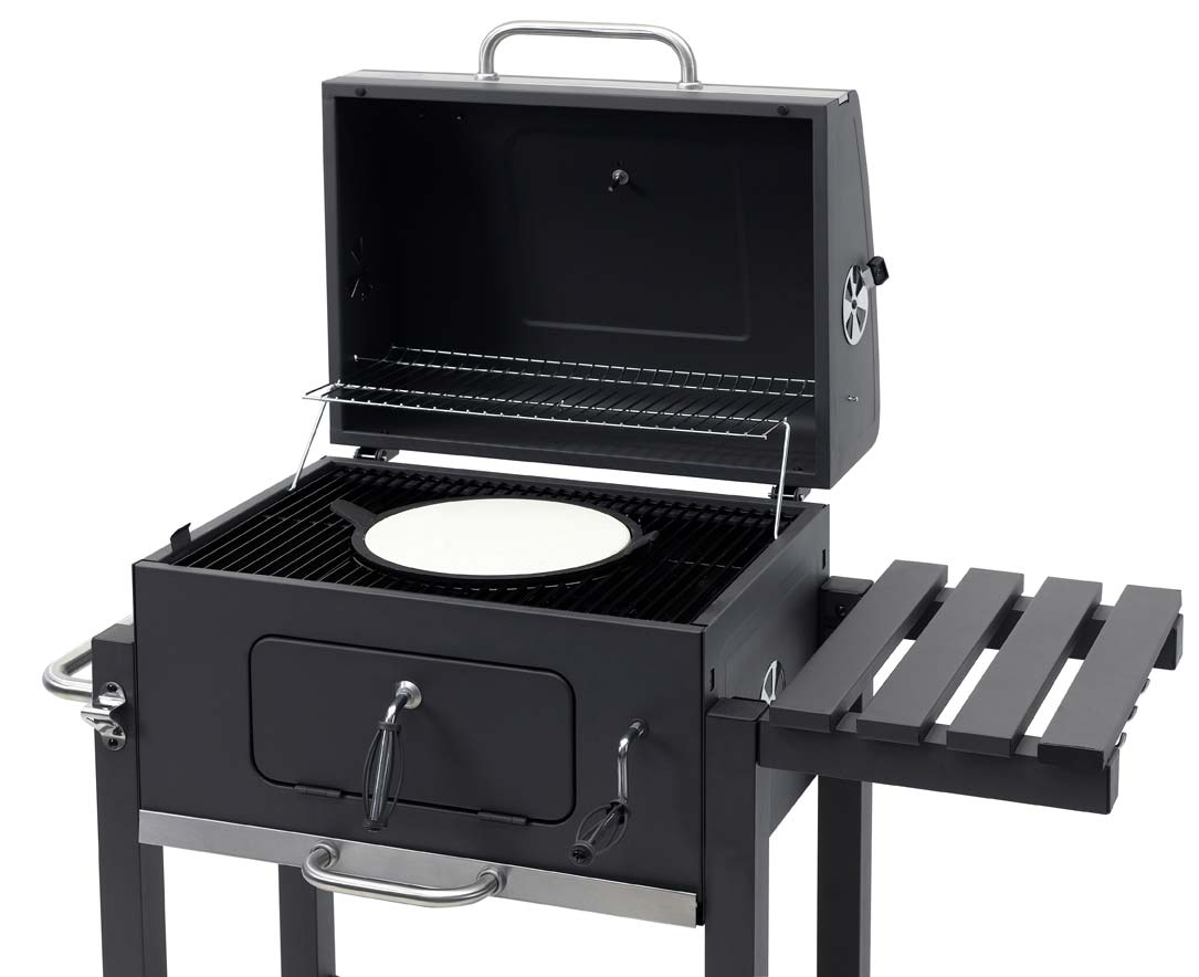 tepro holzkohlegrill grillwagen toronto click grillfl che 56x41 5cm bei. Black Bedroom Furniture Sets. Home Design Ideas