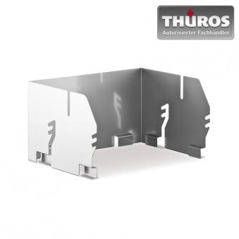 THÜROS Aufsatz-Windansteckblech für Grillfläche 30 x 30 cm Edelstahl Bild 1