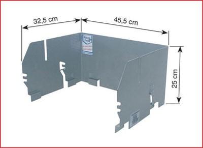 THÜROS Aufsatz-Windansteckblech für Thüros Grill Toronto Amrum Bild 2