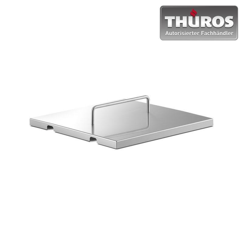 THÜROS Deckel für Grillfläche 30x30cm Tischgrill Steckgrill Edelstahl Bild 1