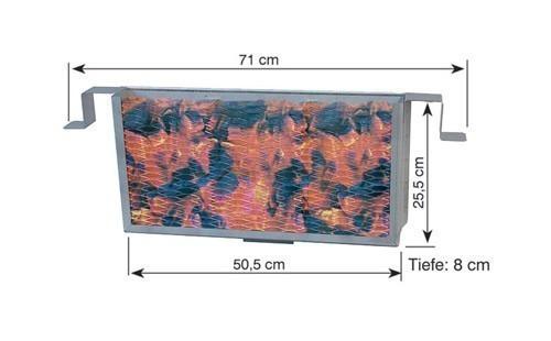 THÜROS Kohleschacht für Seitenhitze für Thüros Grill Bild 2