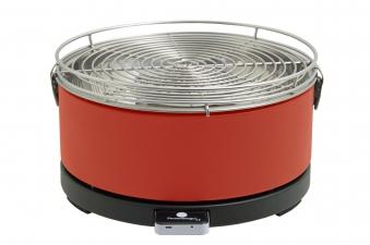 Rauchfreier Grill Feuerdesign Mayon Ø33cm rot Bild 1