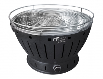 rauchfreier grill tischgrill justgrill my sahara 34cm schwarz bei. Black Bedroom Furniture Sets. Home Design Ideas