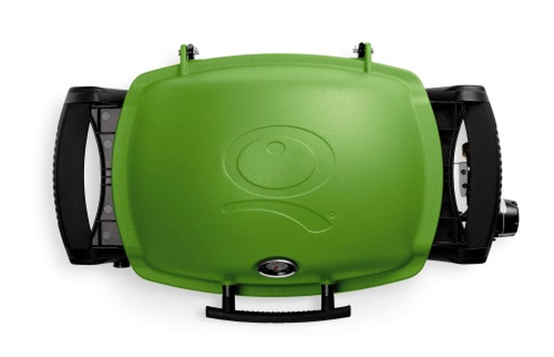 weber gasgrill q 1200 grillfl che 43x32cm gr n bei. Black Bedroom Furniture Sets. Home Design Ideas