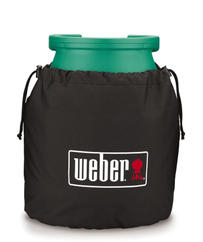 weber abdeckhaube gasflasche 5 kg kleinster mobiler gasgrill. Black Bedroom Furniture Sets. Home Design Ideas