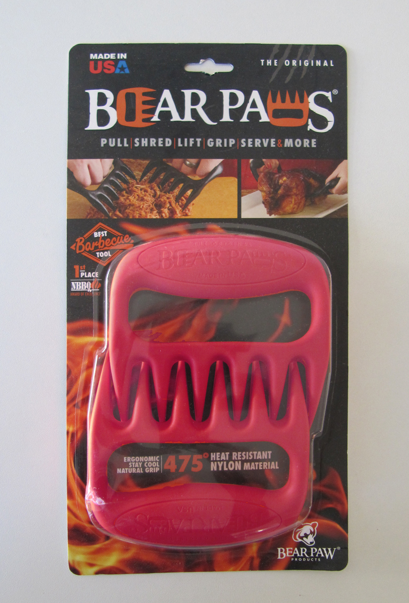 Pulled Pork Krallen Bear Paws Grizzly Edition rot Bild 1