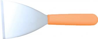 SIMOGAS Spatel trapezförmige Spatula Edelstahl 12x10cm Bild 1