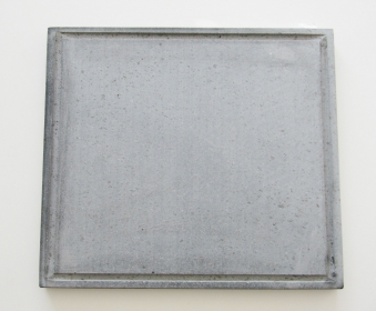 Pizzastein / Lavastein Freiluftküche 33x33x2cm Bild 1