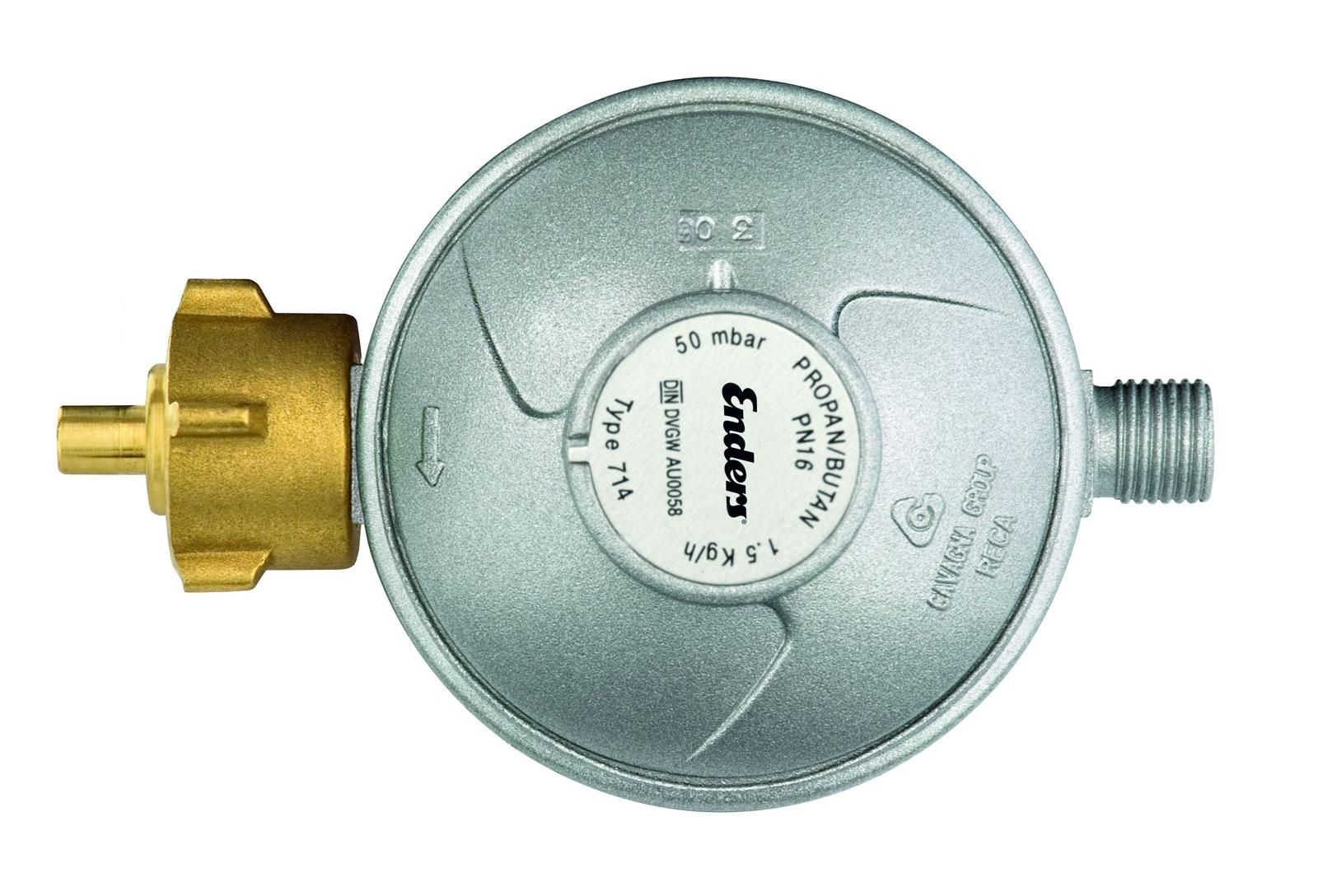 Enders Gasdruckregler 50mbar 1,5 kg/h Bild 1