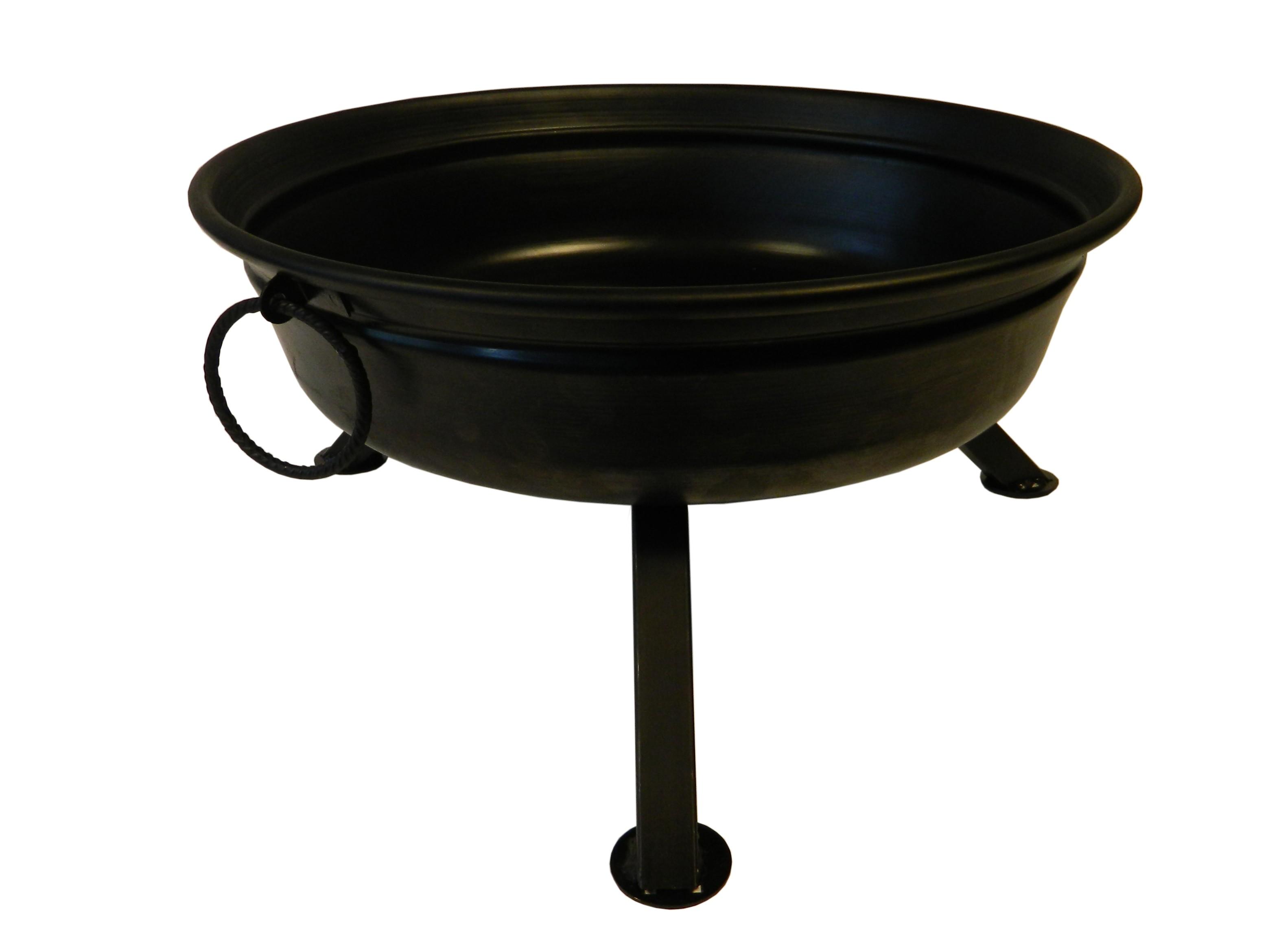 Feuerschale Standard Ø 60cm Stahl schwarz Bild 1