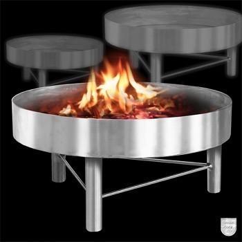 feuerstelle zu schwenkgrill dreibeingrill f r bis 100 cm bei. Black Bedroom Furniture Sets. Home Design Ideas