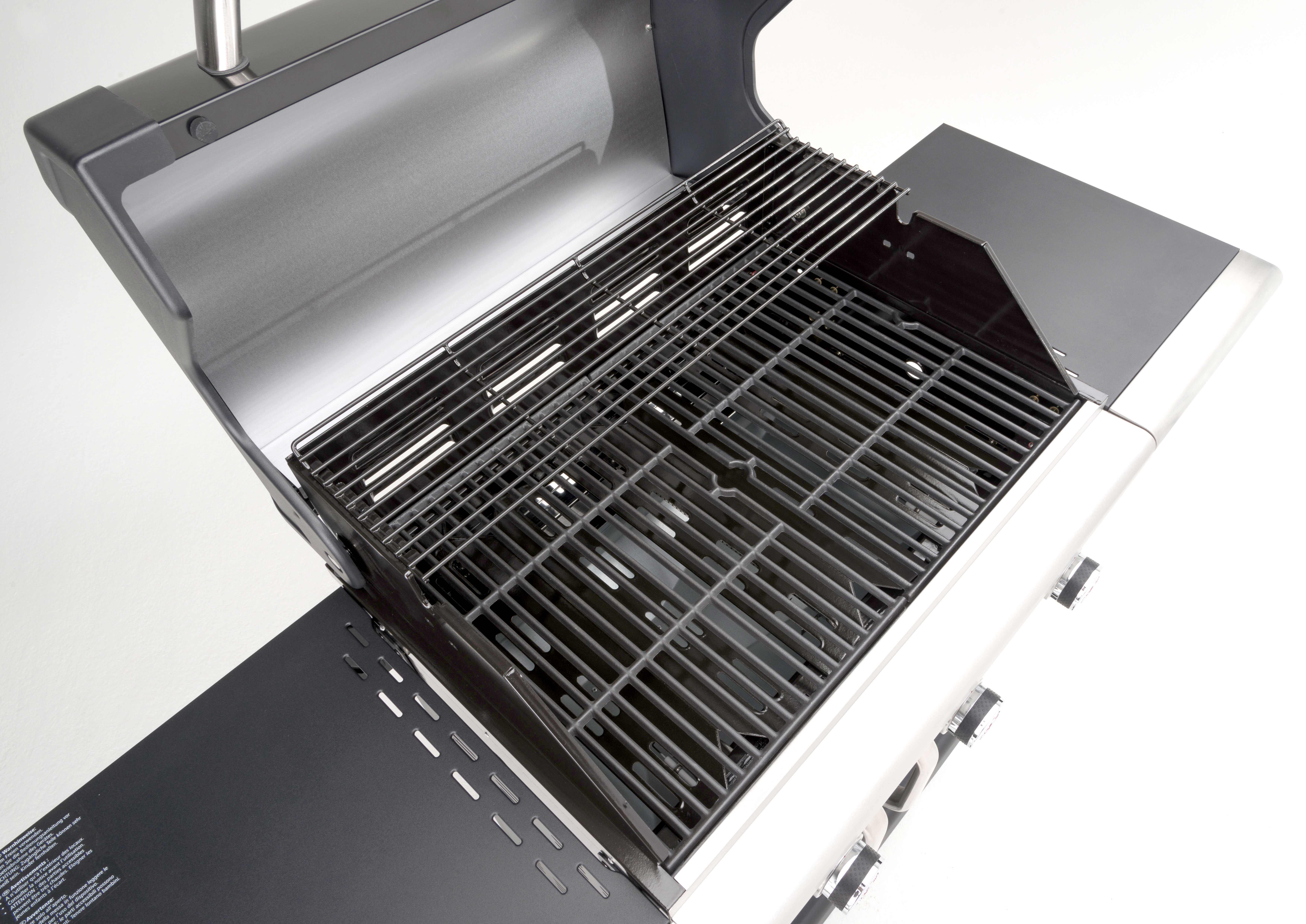 landmann gasgrill grillwagen triton 3 schwarz 65x45cm 12932 bei. Black Bedroom Furniture Sets. Home Design Ideas